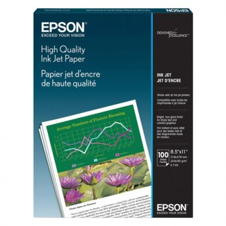 "Epson® - 8.5"" x 11"" High Quality Inkjet Paper"