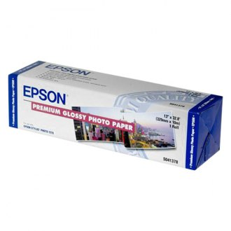 "Epson® - 13"" x 32' Premium High Glossy Photo Roll Paper"