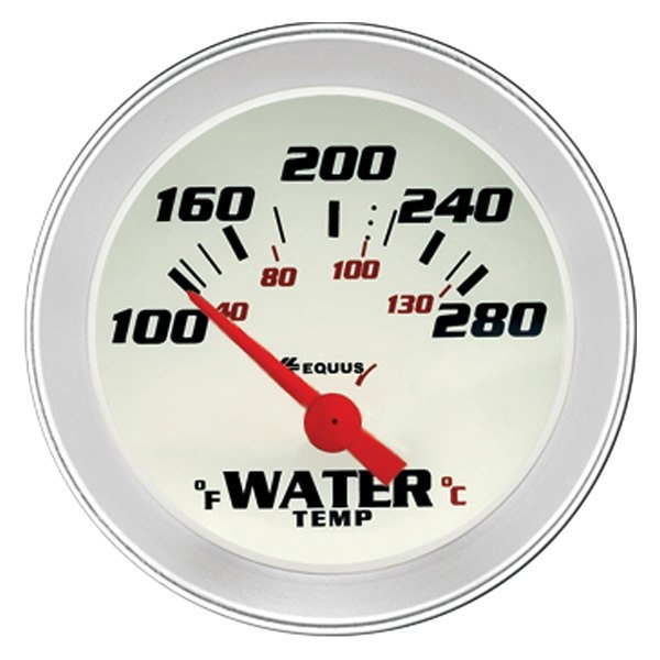 Equus 8000 Series 2 Electrical Water Temperature Gauge