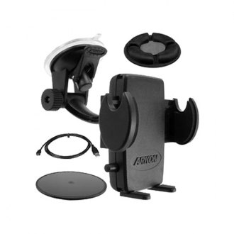 Escort® - Windshield/Dashboard Suction Cup Mount with Beanbag and Android Charging Cable