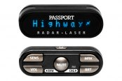 Escort® - Passport 9500ci Pro Installed Radar Detector, Display and Controller