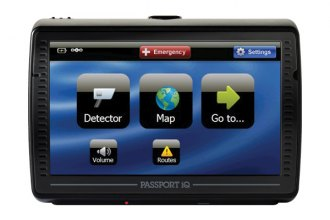 ESCORT� - Passport iQ Windshield Radar Detector with GPS Navigation