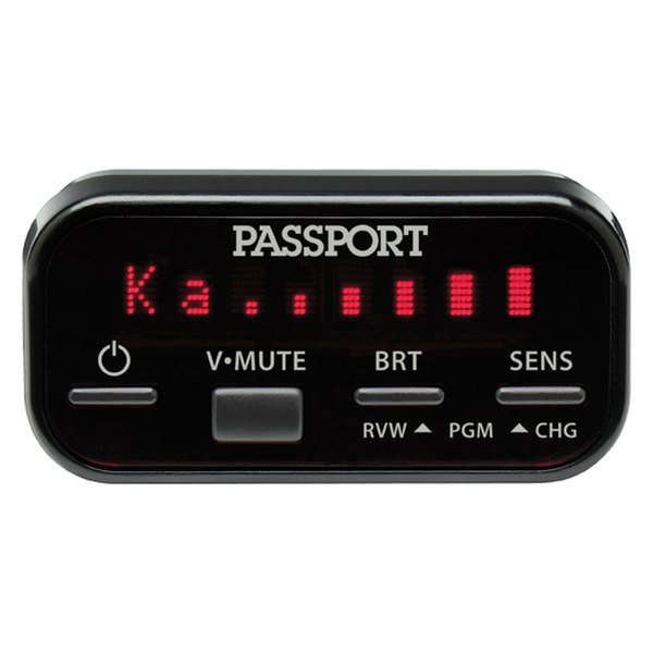 Escort® - Passport 8500ci Installed Radar Detector, Display