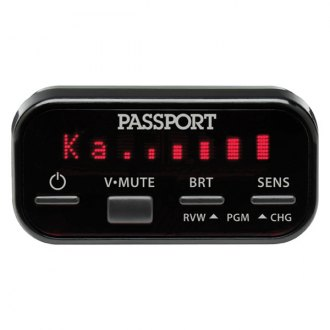 ESCORT� - Passport 8500ci Installed Radar Detector, Display