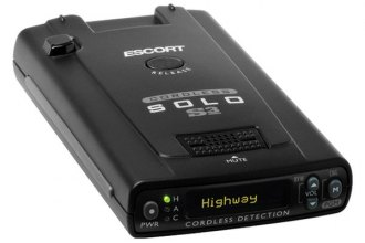 Escort® - Solo S3 Windshield Radar Detector