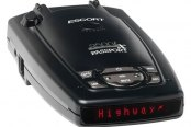 ESCORT� - Passport 9500ix Windshield Radar Detector with Red Display