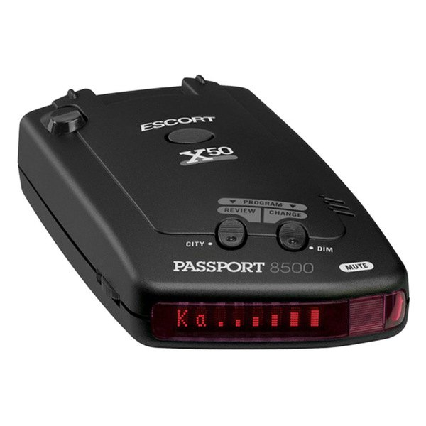 Escort® - Passport 8500X50 Windshield Radar Detector with Red Display