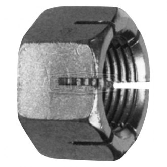 Euclid® - Dark Gray Flat Seat Open End Sloted Lug Nut