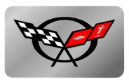 Eurosport Daytona® - Flags Logo on Stainless Steel Exhaust Enhancers