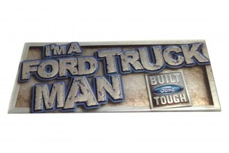 Eurosport Daytona® - Built Ford Tough Self-Adhesive Logo