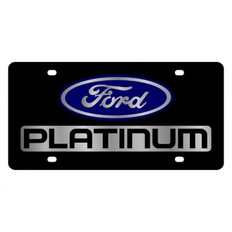 Built Ford Tough F-250 License Plate Frame 2009-up Eurosport Daytona