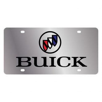 Eurosport Daytona® - GM License Plate with Buick Logo and Emblem