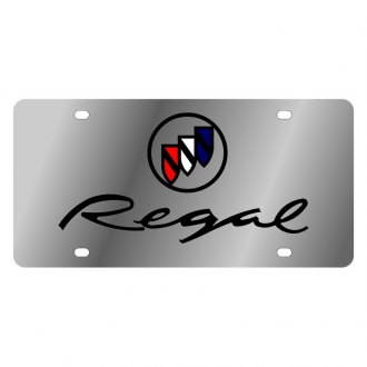 Eurosport Daytona® - GM License Plate with Regal Logo and Buick Emblem