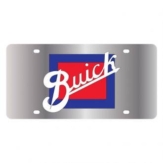 Eurosport Daytona® - GM Polished License Plate with Buick Retro Logo