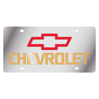 Eurosport Daytona® - GM License Plate with Chevrolet Logo and Emblem