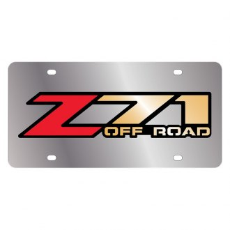 Eurosport Daytona® - GM License Plate with Style 1 Z71 Off Road Logo