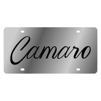 Eurosport Daytona® - GM License Plate with Script Camaro Logo