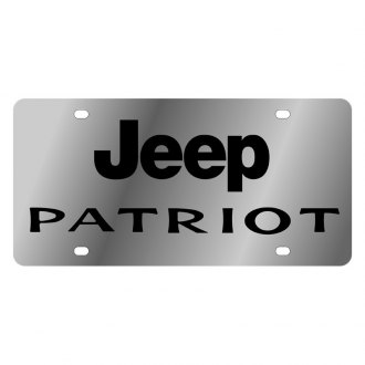 Eurosport Daytona® - MOPAR License Plate with Jeep Patriot Logo