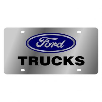 Eurosport Daytona® - Ford Motor Company License Plate with Trucks Logo and Ford Emblem