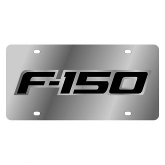 Eurosport Daytona® - Ford Motor Company Polished License Plate with F-150 Badge New Logo