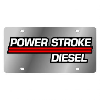 Eurosport Daytona® - Ford Motor Company License Plate with Power Stroke Diesel Logo
