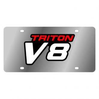 Eurosport Daytona® - Ford Motor Company License Plate with Triton V8 Logo