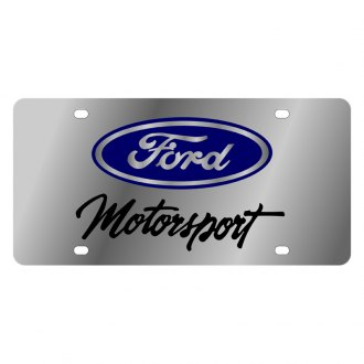 Eurosport Daytona® - Ford Motor Company License Plate with Ford Motorsport Logo