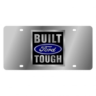 Eurosport Daytona® - Ford Motor Company License Plate with Built Ford Tough Logo