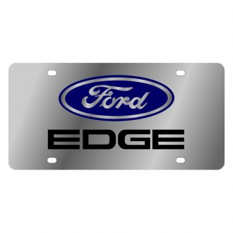 Eurosport Daytona® - Ford Motor Company License Plate with Edge Logo and Ford Emblem