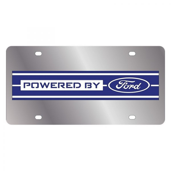 Eurosport Daytona® - Ford Motor Company License Plate with Powered by Ford Logo