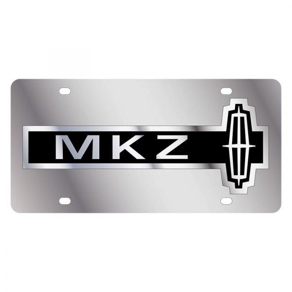 Chrome Eurosport Daytona Name On Polished License Plate Logo Plate for Lincoln MKX Inc