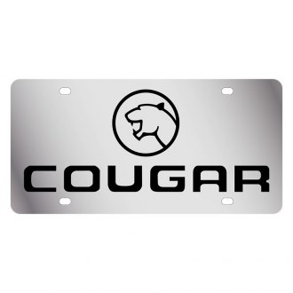 Eurosport Daytona® - Ford Motor Company License Plate with Cougar Logo and Emblem