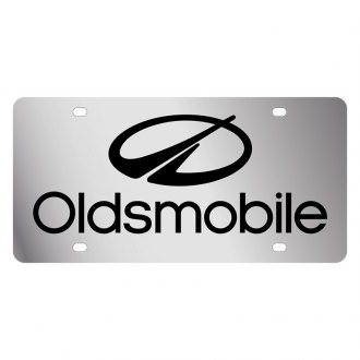 Eurosport Daytona® - GM License Plate with Oldsmobile Logo and Emblem