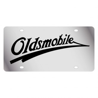 Eurosport Daytona® - GM License Plate with Oldsmobile Retro Logo