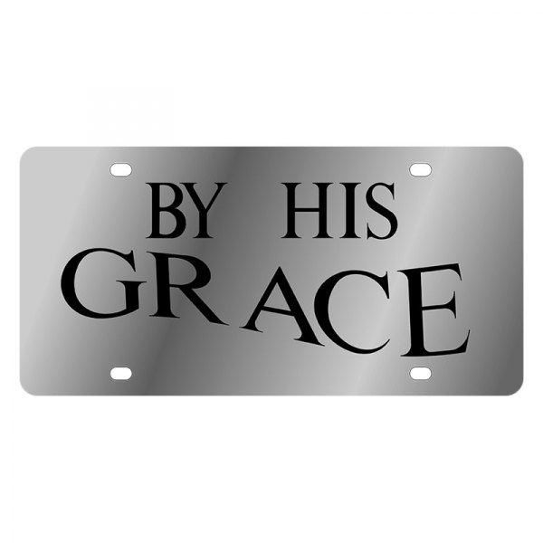 Eurosport Daytona® - LSN License Plate with By His Grace Logo