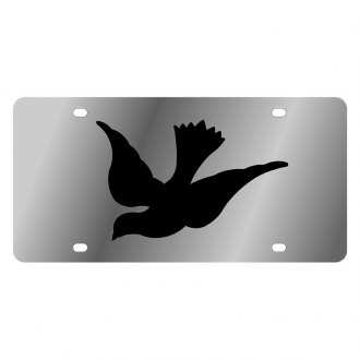 Eurosport Daytona® - LSN Polished License Plate with Dove Logo