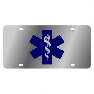 Eurosport Daytona® - LSN Polished License Plate with EMT Logo
