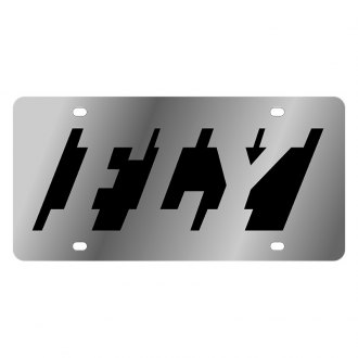 Eurosport Daytona® - LSN Polished License Plate with FLY Logo