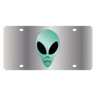 Eurosport Daytona® - LSN License Plate with Alien Logo