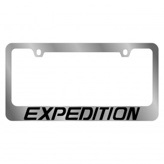 Eurosport Daytona® - Ford Motor Company Chrome License Plate Frame with Expedition Logo