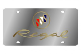 Eurosport Daytona® - GM License Plate with Gold Regal Logo
