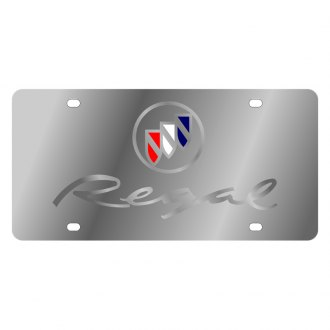 Eurosport Daytona® - GM License Plate with Silver Regal Logo
