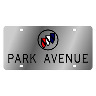 Eurosport Daytona® - GM License Plate with Black Park Avenue Logo