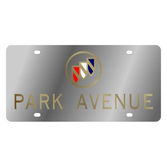 Eurosport Daytona® - GM License Plate with Gold Park Avenue Logo