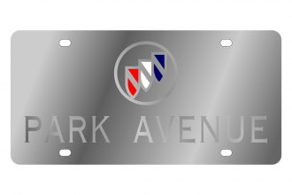 Eurosport Daytona® - Silver Park Avenue Logo on Stainless Steel License Plate