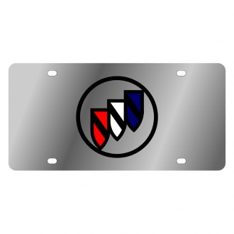 Eurosport Daytona® - GM License Plate with Black Buick Logo