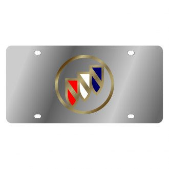 Eurosport Daytona® - GM License Plate with Gold Buick Logo