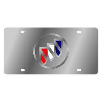 Eurosport Daytona® - GM License Plate with Silver Buick Logo