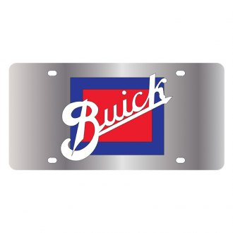Eurosport Daytona® - GM License Plate with Black Buick Retro Logo