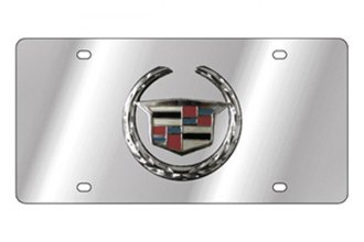Eurosport Daytona® - GM License Plate with Black Cadillac New Logo